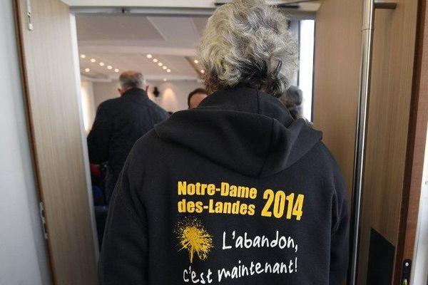 Un opposant à la construction de l'aéroport Notre-Dame-des-Landes à la cour administrative d'appel de Nantes - 7/11/2016