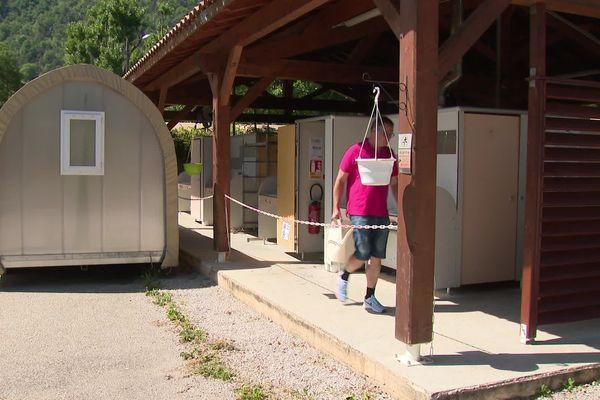 """Jean-Michel Pluvinage, propriétaire du camping """"Les Chapelains"""",a cru, jusqu'au dernier moment, pouvoir ouvrir son camping pour le week-end de l'Ascension...."""