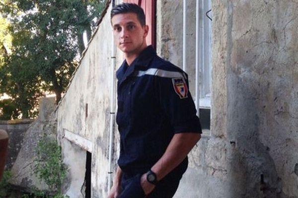 Jérémy 24 ans, l'un des pompiers blessés à Gabien est décédé