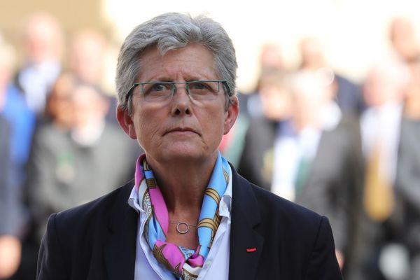 Geneviève Darrieussecq, Secrétaire d'État auprès de la ministre des Armées, en septembre 2017