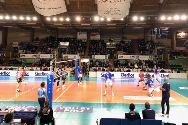 Il aura fallu quatre sets pour que les Poitevins viennent à bout de l'équipe de Montpellier.