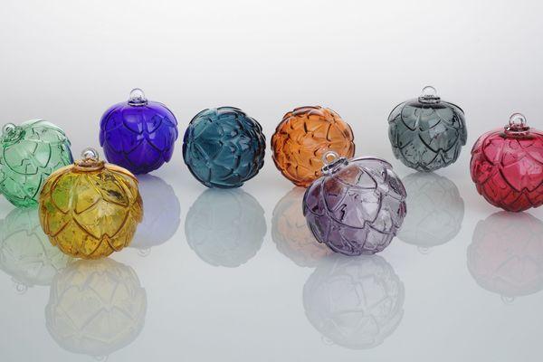 Arti, la nouvelle boule de Noël 2018 du centre international d'art verrier de Meisenthal