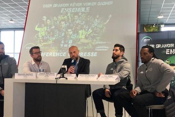 Nîmes : l'USAM recrute Vid Kavticnik et Quentin Minel pour la saison prochaine - 3 mars 2020.