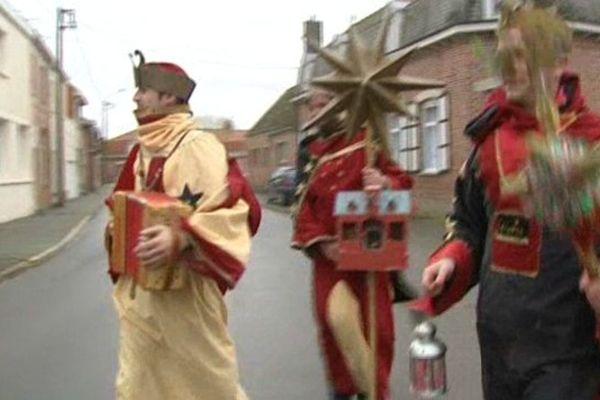 Les Rois Mages en Flandres, ce mercredi.