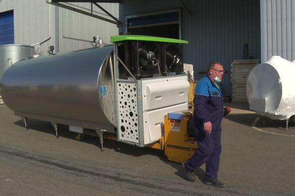 Opticool le nouveau tank à lait du groupe SERAP