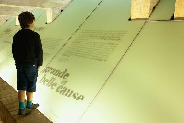 A Nantes le mémorial de l'abolition de l'esclavage