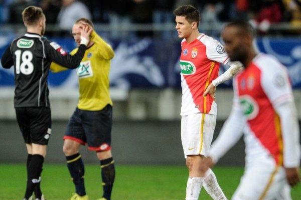 L'AS Monaco battu à Sochaux quitte la coupe de France par la petite porte.