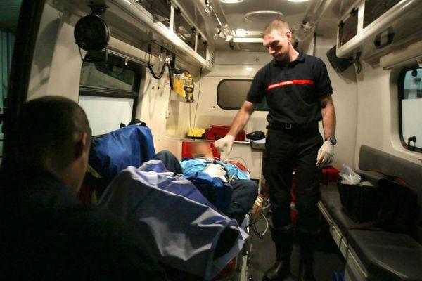 Illustration- Le secours d'urgence aux personnes représente 80% de l'activité opérationnelle des sapeurs-pompiers.