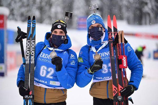 Desthieux et Jacquelin en doublé sur le podium du sprint en Slovenie