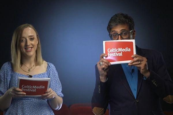 La directrice du Celtic Media Festival, Catriona Logan et le comédien Sanjeev Kohli ont annoncé les œuvres nommés pour l'édition 2021.