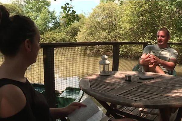 Des touristes nantais ont choisi Pressac pour leur week-end prolongé.