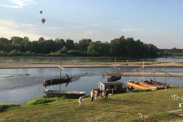 La batellerie de Loire en pleine expansion au port de Chaumont-sur-Loire