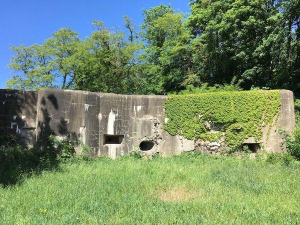 Vestiges du fort d'Eben-Emael en Belgique.