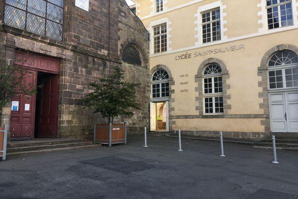 Le lycée Saint-Sauveur de Redon, premier établissement scolaire fermé pour cause de coronavirus