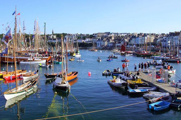 Temps Fête à Dournenez (Finistère), c'est 400 bateaux inscrits à ce jour et 100 000 festivaliers attendus