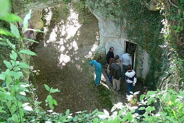 Visite de la grotte de la Mansonnière