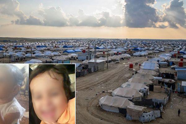 Le camp de réfugiés d'Al-Hol (Syrie), le 17 février 2019.