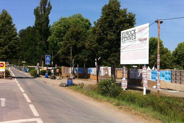 La victime a été secourue quelques centaines de mètres avant l'entrée du festival sur une voie d'accès