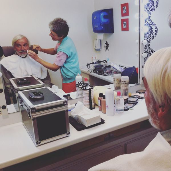 Philippe Delerm au maquillage