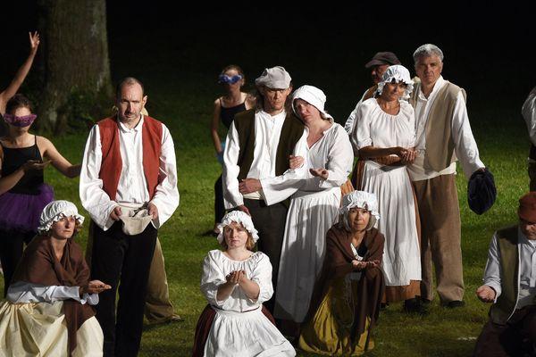 Les orages ont eu raison de la représentation des Misérables.