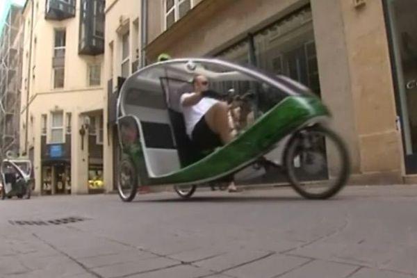 Si on essayait le vélo-taxi ?