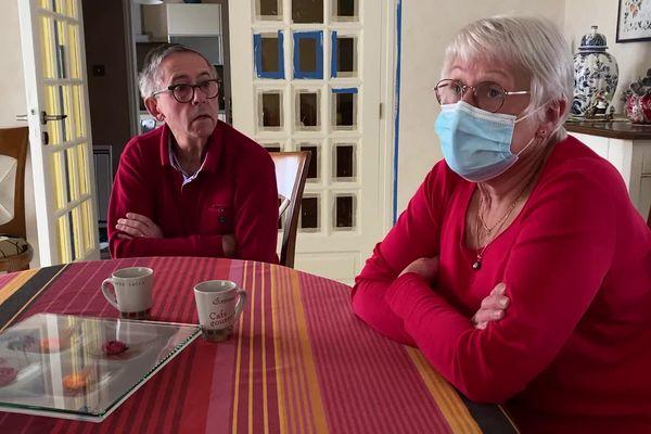 Le quotidien de Marinette et Jean-Bernard Lanord est marqué par la maladie d'Alzheimer.