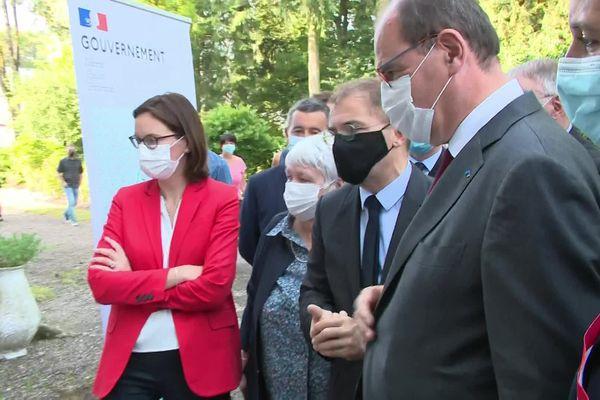 Cinq ministres ont fait le déplacement en Haute-Saône, notamment à Lure
