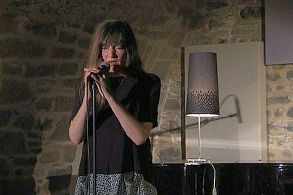 Elise Caron à Jazz sous les pommiers, samedi 4 mai 2013