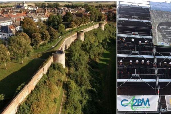 Les remparts de Montreuil vont être en chantier pendant 10 mois.
