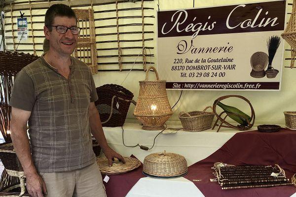 Régis Colins, osiériculteur-vannier présent samedi 25 et dimanche 26 juillet à Nancy