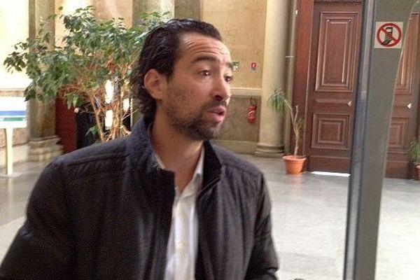 Montpellier - Pierre Augé est venu témoigner en faveur de l'accusé qui a travaillé pour lui - 28 avril 2015.