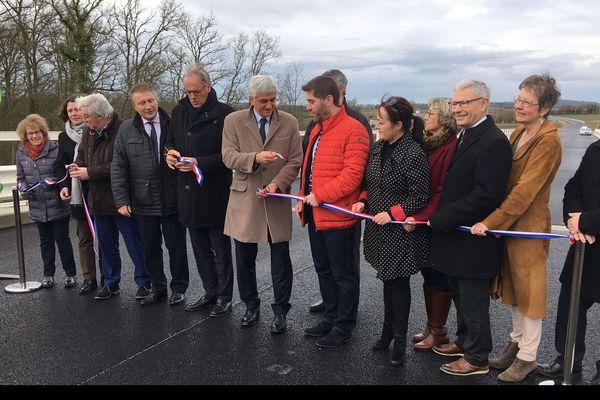 Inauguration de la rocade de Flers