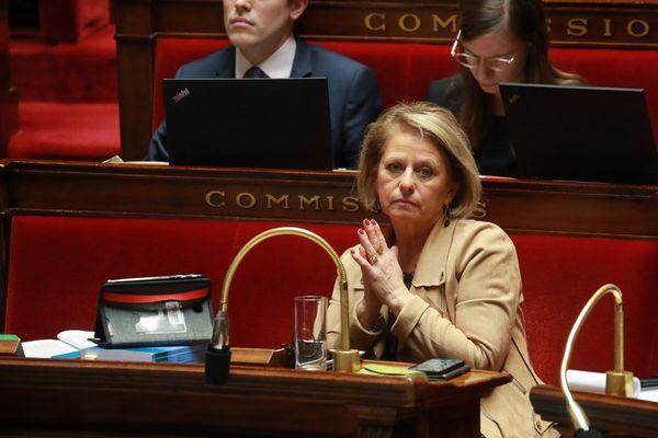 Brigitte Bourguignon à l'Assemblée nationale en février 2020.