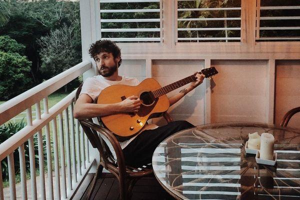 Julien Barbagallo reste confiné chez lui en Australie.