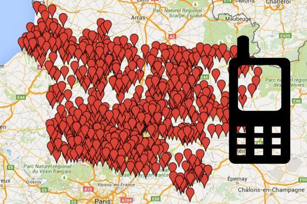 Ci-dessous, notre carte interactive.