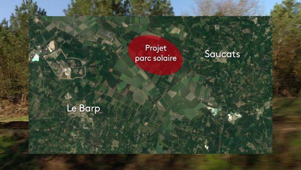 Des élus dénoncent la création de ce parc s'il entraine la destruction de 1000 hecatres de pins.