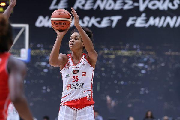 Marielle Amant et l'équipe de France féminine de basket sont attendues à Rio. (archives)