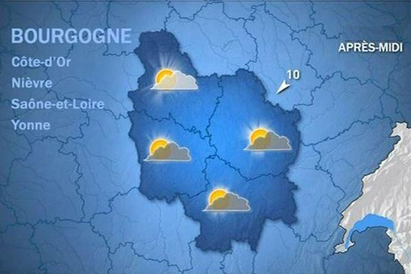 Les prévisions de Météo France vendredi 23 octobre après-midi