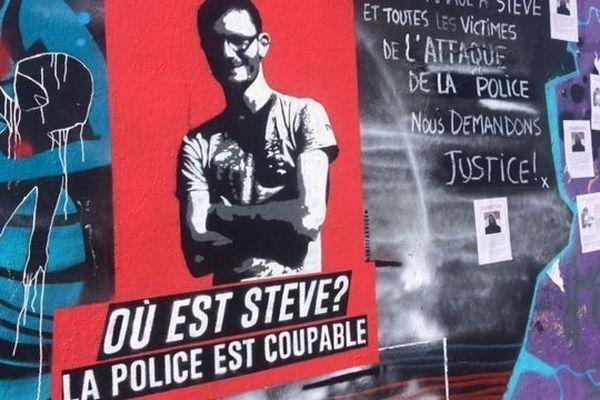 """""""Où est Steve ?"""", la question est sur tous les murs de Nantes"""