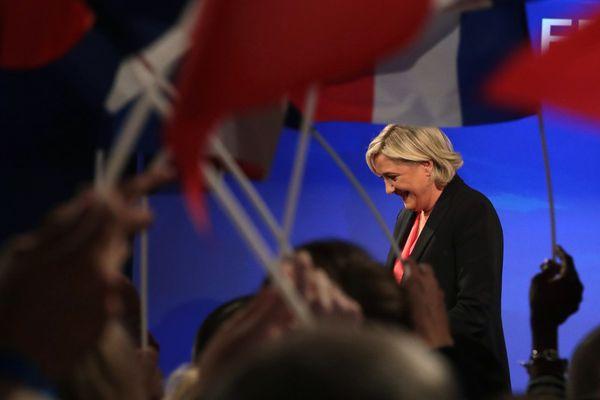 Marine Le Pen ce dimanche soir