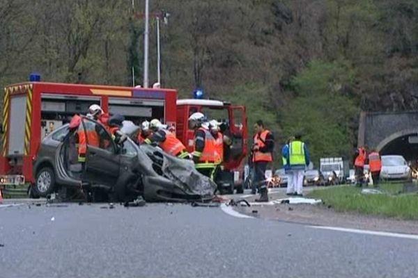 13 morts sur les routes en moins de 7 mois. Archives