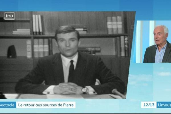 Pierre Douglas l'un des premiers présentateurs du journal de France 3 Limousin