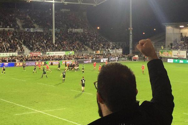 La victoire du CA Brive face au Stade Toulousain 21 à 19
