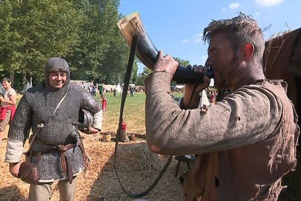 Les Médiévales au bord de l'eau 2018 à Amiens