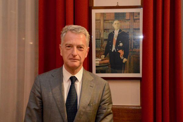 Hervé Gaymard, nouveau président de la Fondation Charles de Gaulle (18/12/2018)