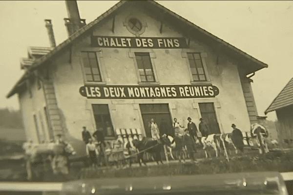 L'ancienne fruitière à Comté des Fins dans le Haut-Doubs