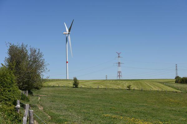 Des nouvelles éoliennes pourraient faire leur apparition dans les prochaines années autour de Lury-sur-Arnon (Cher). Photo d'illustration.