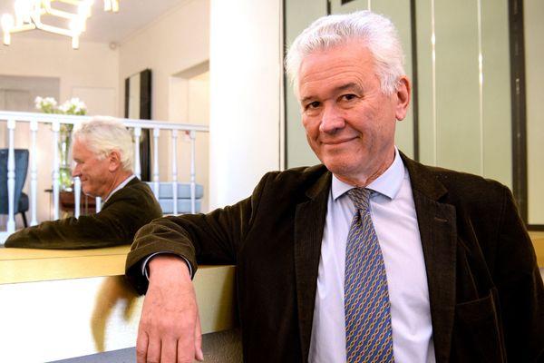 Hervé Juvin, tête de liste du RN, pour les élections régionales 2021