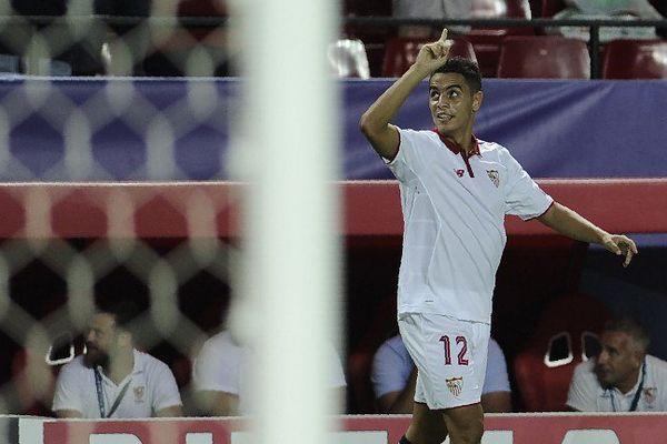 Wissam Ben Yedder a marqué le but de Séville contre Lyon