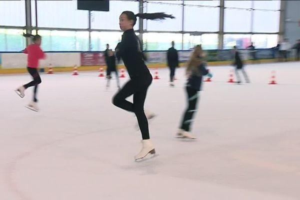 Le club de patinage artistique de Limoges.